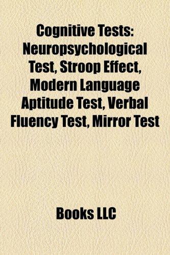 Cognitive tests: Source