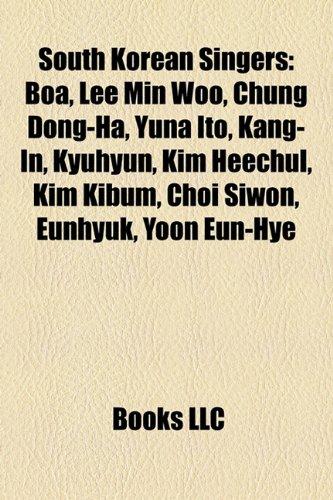 9781156963210: South Korean singers: South Korean female singers, South Korean male singers, South Korean musical theatre actors