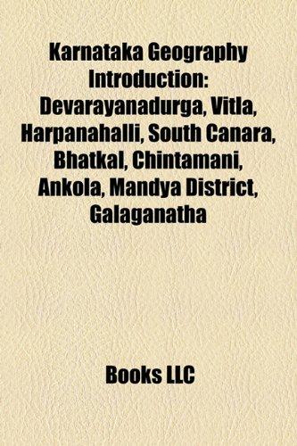 Karnataka geography Introduction
