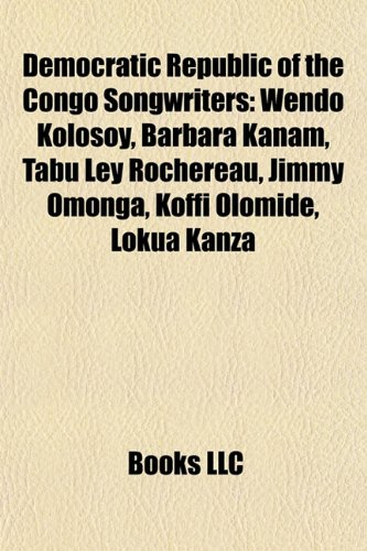 9781157063360: Democratic Republic of the Congo Songwriters
