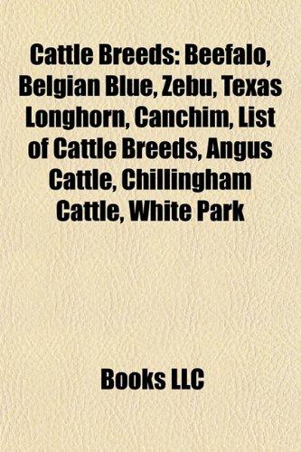 9781157085386: Cattle breeds: Beefalo, Belgian Blue, Zebu, Texas Longhorn, Canchim, List of cattle breeds, Angus cattle, White Park, Chillingham Cattle