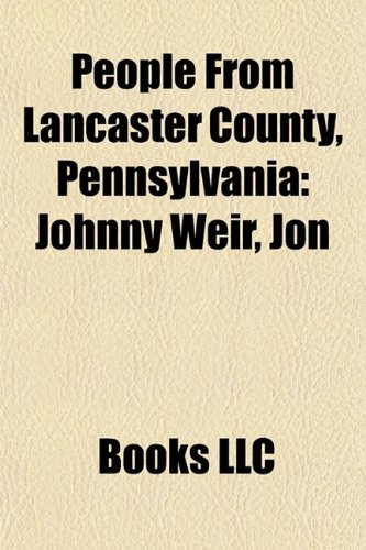 People from Lancaster County, Pennsylvania: Johnny Weir,: Source Wikipedia