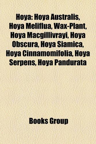 9781157175117: Hoya: Hoya Australis, Hoya Meliflua, Wax