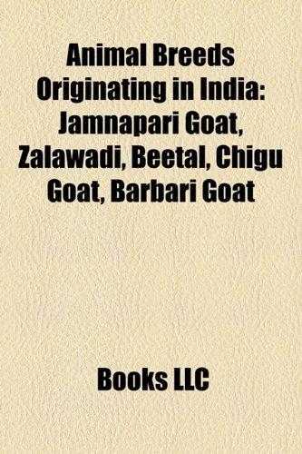 9781157176039: Animal Breeds Originating in India: Jamnapari