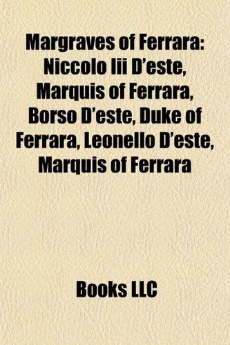 9781157331087: Margraves of Ferrara