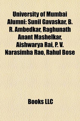 9781157477921: University of Mumbai alumni: Sunil Gavaskar