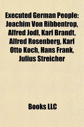 9781157514367 Executed German People Joachim Von Ribbentrop