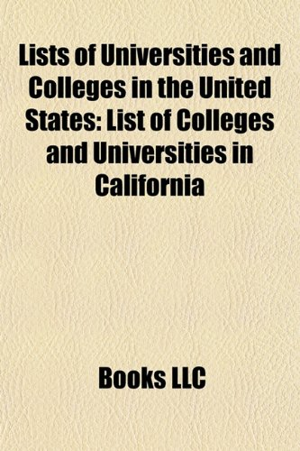 9781157659266: Lists of Universities and Colleges in the United States: List of American Institutions of Higher Education: List of American institutions of higher ... List of nursing schools in the United States