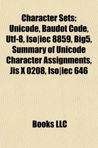 9781157681113: Character sets:...