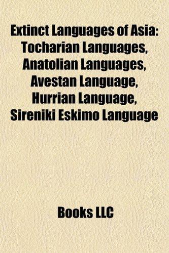 Extinct Languages Of Asia Sumerian Language - Extinct languages