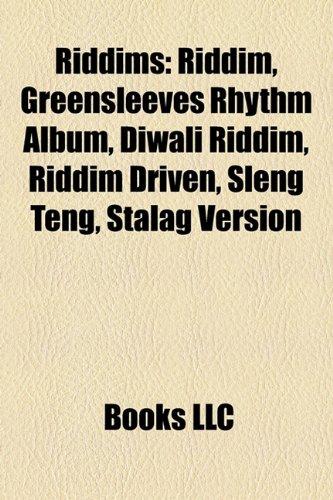 9781158467990: Riddims: Riddim, Greensleeves Rhythm Album, Diwali Riddim, Riddim Driven, Sleng Teng, Stalag Version