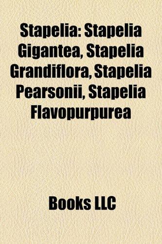 9781158486496: Stapelia: Stapelia Gigantea, Stapelia Grandiflora, Stapelia Pearsonii, Stapelia Flavopurpurea