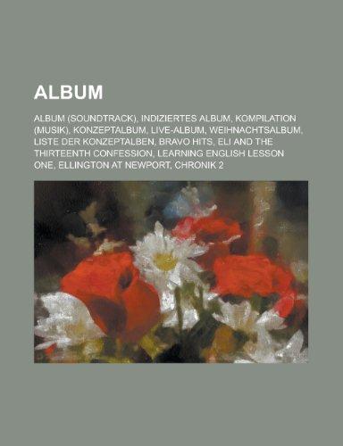 9781158756520: Album: Liste Der Konzeptalben, Musikalbum, 500 Beste Alben Aller Zeiten, Music Disk