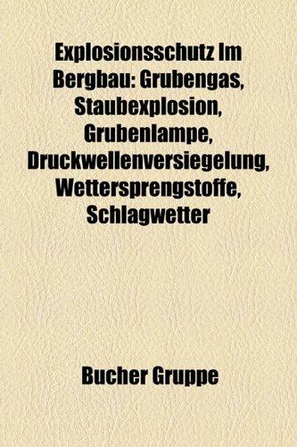 9781158965335: Explosionsschutz Im Bergbau: Grubengas, Staubexplosion, Grubenlampe, Druckwellenversiegelung, Wettersprengstoffe, Schlagwetter