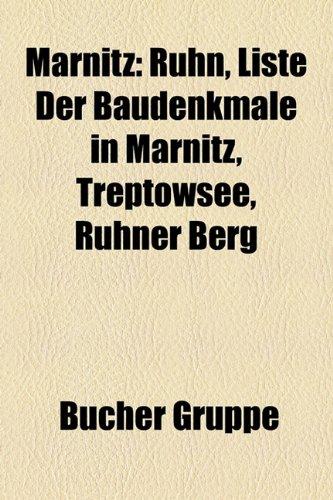 9781159155384: Marnitz: Ruhn, Liste der Baudenkmale in Marnitz, Treptowsee, Ruhner Berg