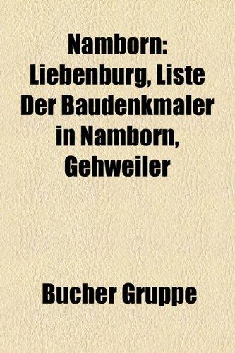 9781159194062: Namborn: Liebenburg, Liste Der Baudenkmaler in Namborn, Gehweiler
