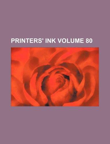 Printers Ink Volume 80
