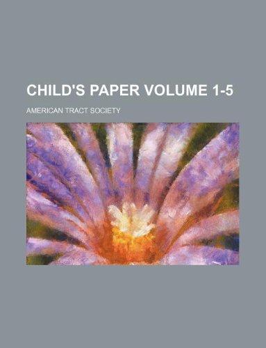 9781159379070: child's paper volume 1-5