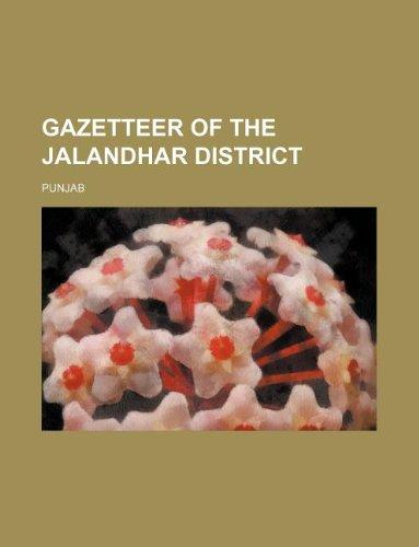 9781159539030: Gazetteer of the Jalandhar District