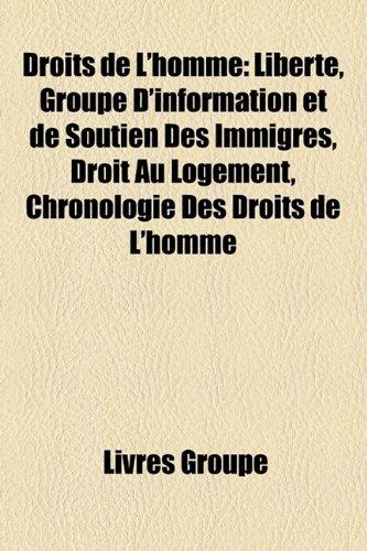 Droits de L'homme: Libertà , Groupe D'information: Groupe, Livres