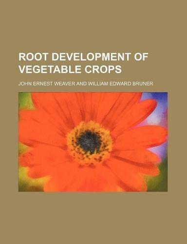 9781159612818: root development of vegetable crops