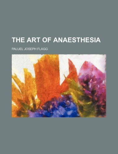9781159647681: the art of anaesthesia