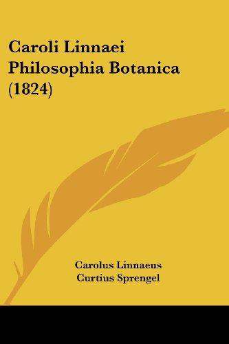 9781160051361: Caroli Linnaei Philosophia Botanica (1824)