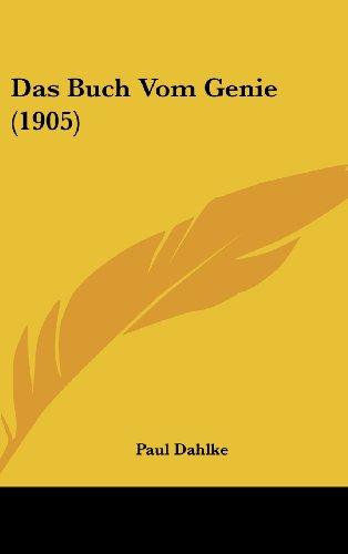 9781160510844: Das Buch Vom Genie (1905)