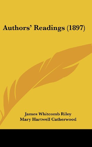 9781160550086: Authors' Readings (1897)