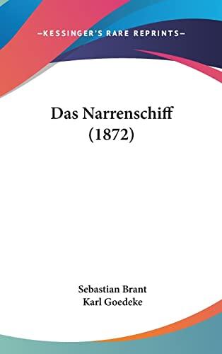 9781160590457: Das Narrenschiff (1872)