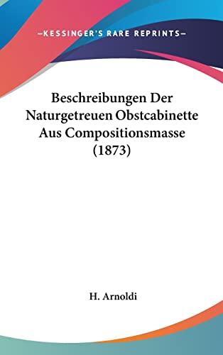 9781160597401: Beschreibungen Der Naturgetreuen Obstcabinette Aus Compositionsmasse (1873)