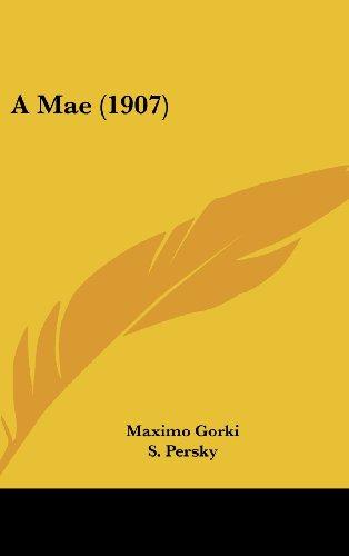 9781160656948: A Mae (1907) (English and Portuguese Edition)