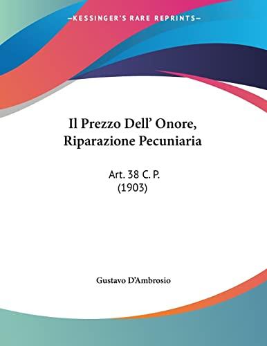 Il prezzo dellonore (Italian Edition)