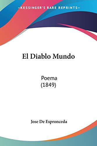 9781161151794: El Diablo Mundo: Poema (1849) (Spanish Edition)