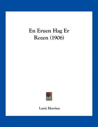 9781161157994: En Eruen Hag Er Rozen (1906) (Arabic Edition)