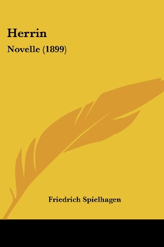9781161195477: Herrin: Novelle (1899) (German Edition)