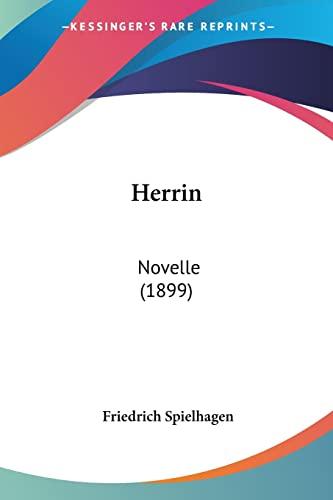 9781161195477: Herrin: Novelle (1899)