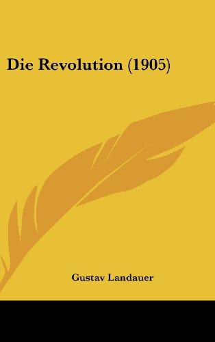 9781161222852: Die Revolution (1905) (German Edition)