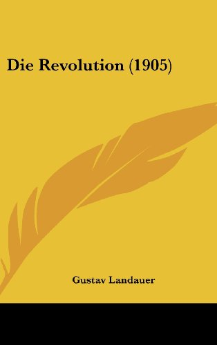 9781161222852: Die Revolution (1905) (German Edition)
