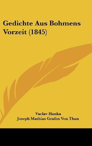 9781161257519: Gedichte Aus Bohmens Vorzeit (1845)