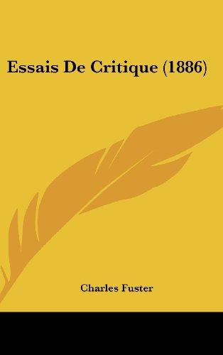 9781161291322: Essais de Critique (1886)