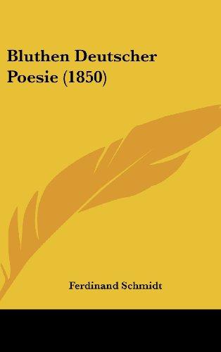 9781161292084: Bluthen Deutscher Poesie (1850)