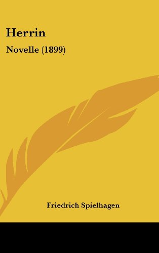 9781161295702: Herrin: Novelle (1899) (German Edition)