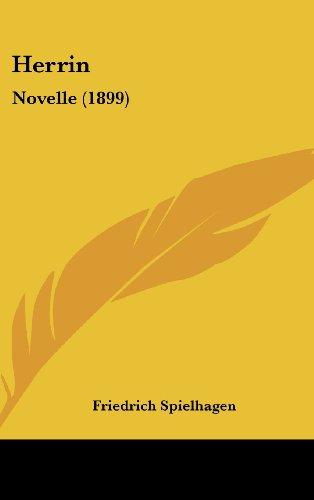 9781161295702: Herrin: Novelle (1899)
