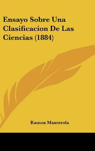 9781161311938: Ensayo Sobre Una Clasificacion De Las Ciencias (1884) (Spanish Edition)