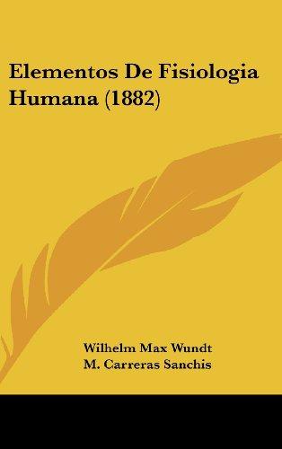 9781161348255: Elementos de Fisiologia Humana (1882)