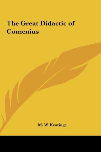 9781161350029: The Great Didactic of Comenius