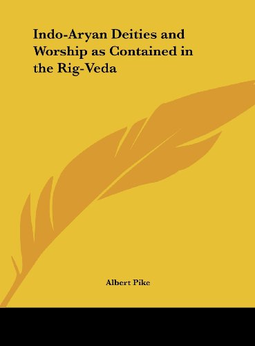 9781161350135: Indo-Aryan Deities and Worship as Contained in the Rig-Veda