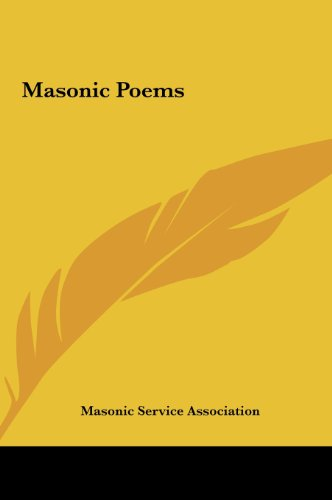 Masonic Poems (1161350330) by Masonic Service Association