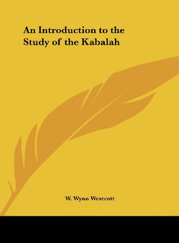9781161351125: An Introduction to the Study of the Kabalah